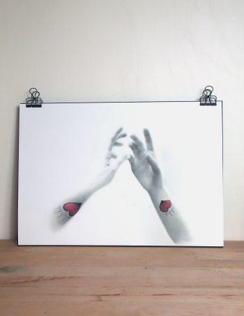 """Tirage du dessin original """"Se connecter"""""""