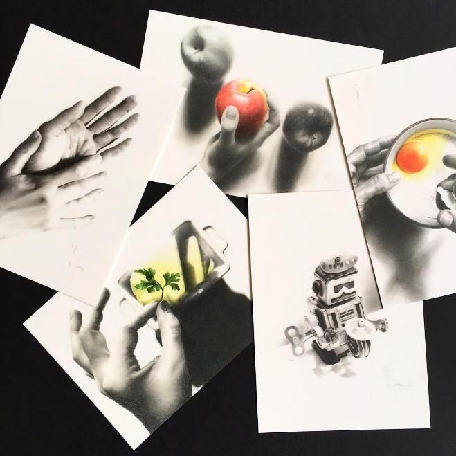 Cartes postales - Christophe Moreau