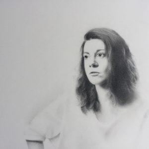 « Savoir qui l'on est », dessin aux crayons sur papier 220 g., au format 29,7 x 42 cm