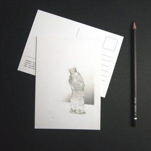 ChristopheMoreau-dessin-bouteille-écrasé-cartepostale