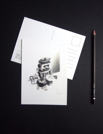 ChristopheMoreau-dessin-robot-remember-cartepostale